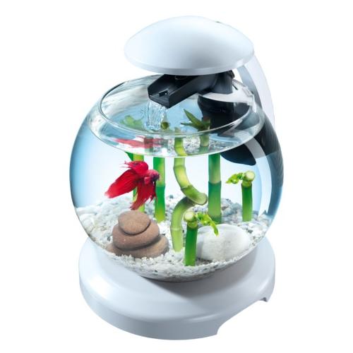 Аквариум Tetra Cascade Globe 6,8л круглый с LED светильником белый
