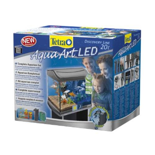 Аквариум Tetra AquaArt LED Goldfish антрацит 20л
