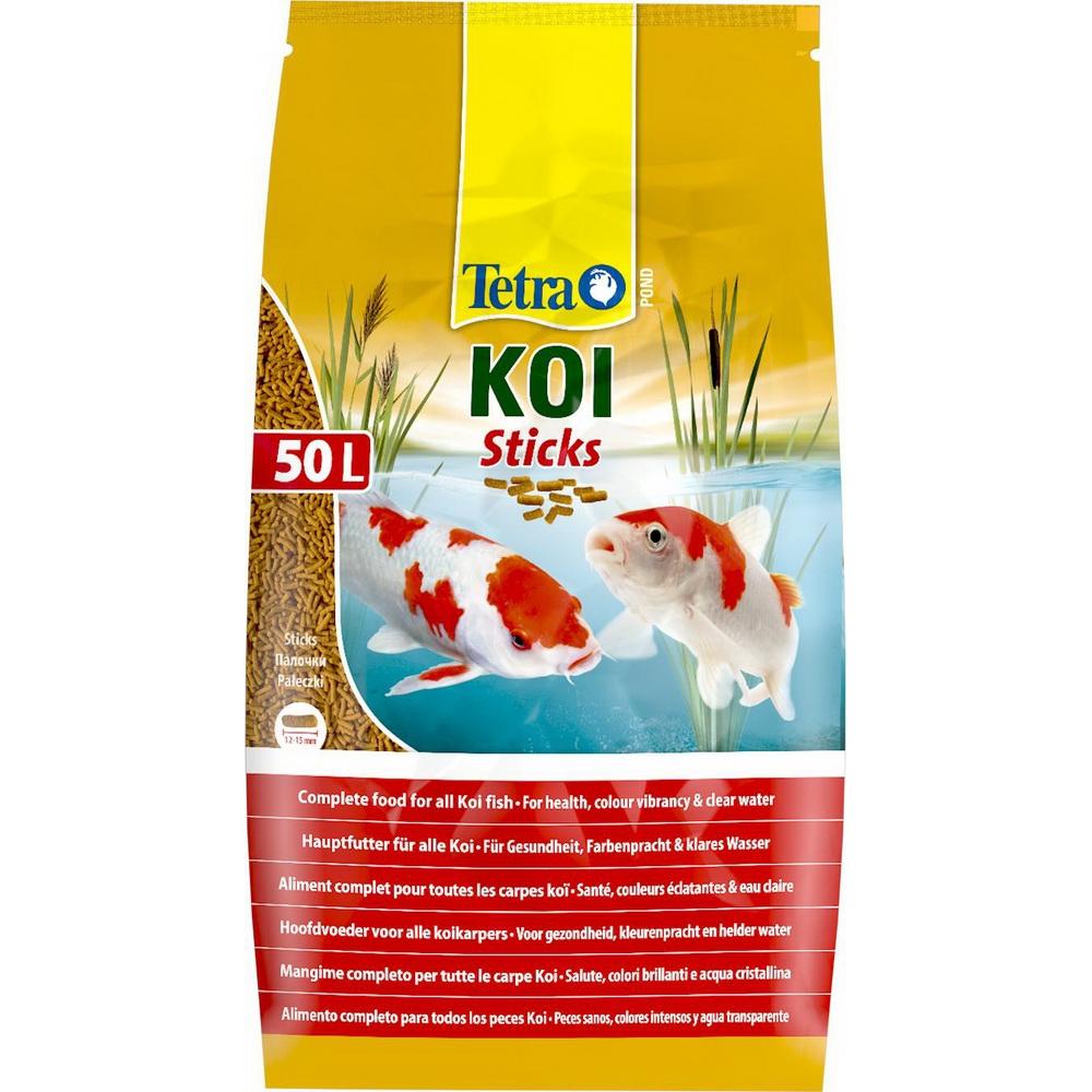 Корм для прудовых рыб TetraPond Koi Sticks гранулы  50л мешок