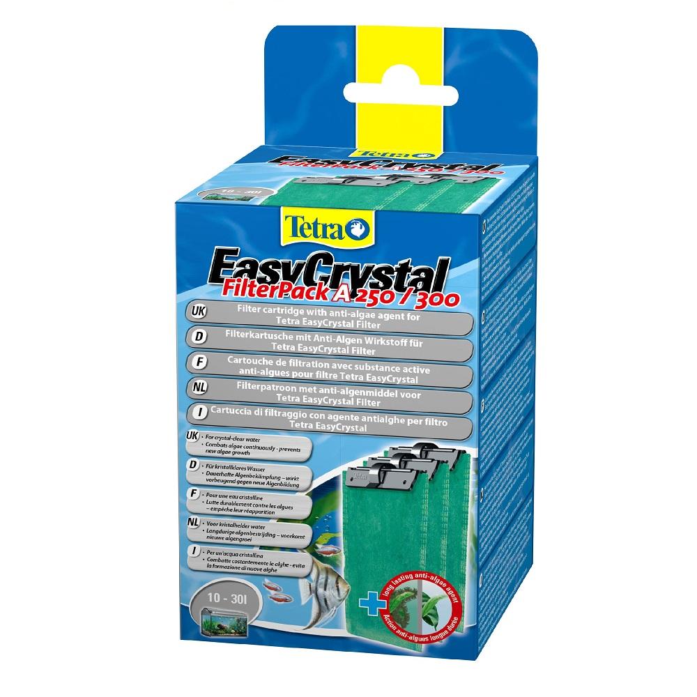 Картридж для фильтра TETRA EasyCrystal 250/300 от водорослей на 10-30л (1таб)