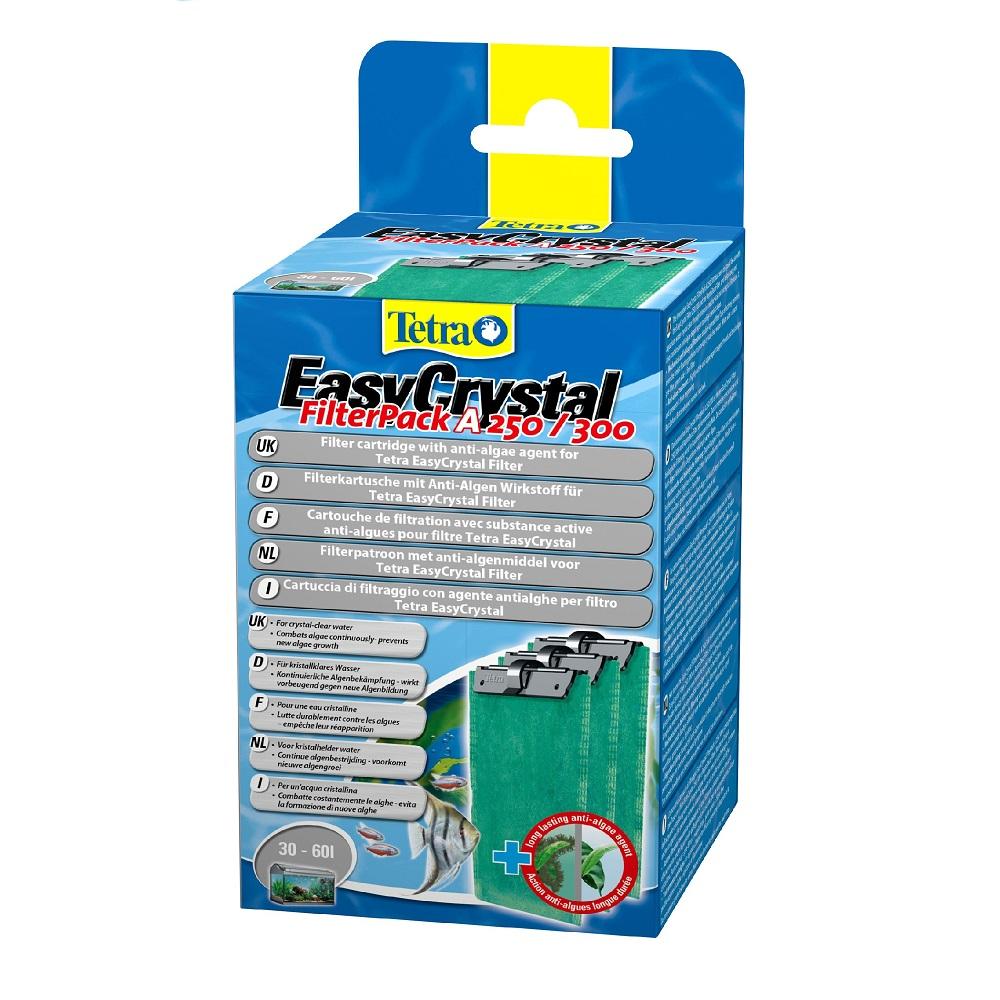 Картридж для фильтра TETRA EasyCrystal 250/300 от водорослей на 30-60л (2таб)