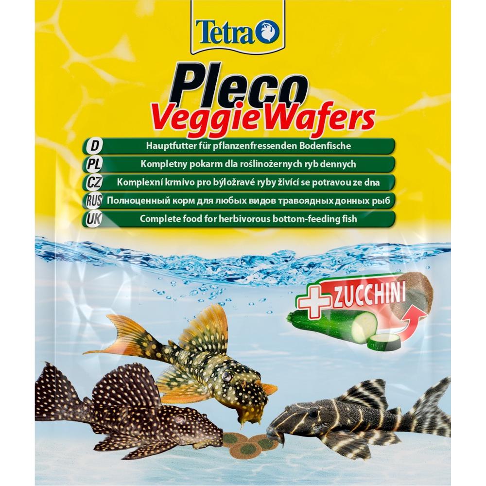 Корм для рыб TetraPleco Veggie Wafers 15г (пакетик)