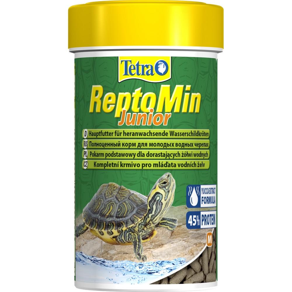 Корм для молодых черепах Tetra ReptoMin Junior 100мл