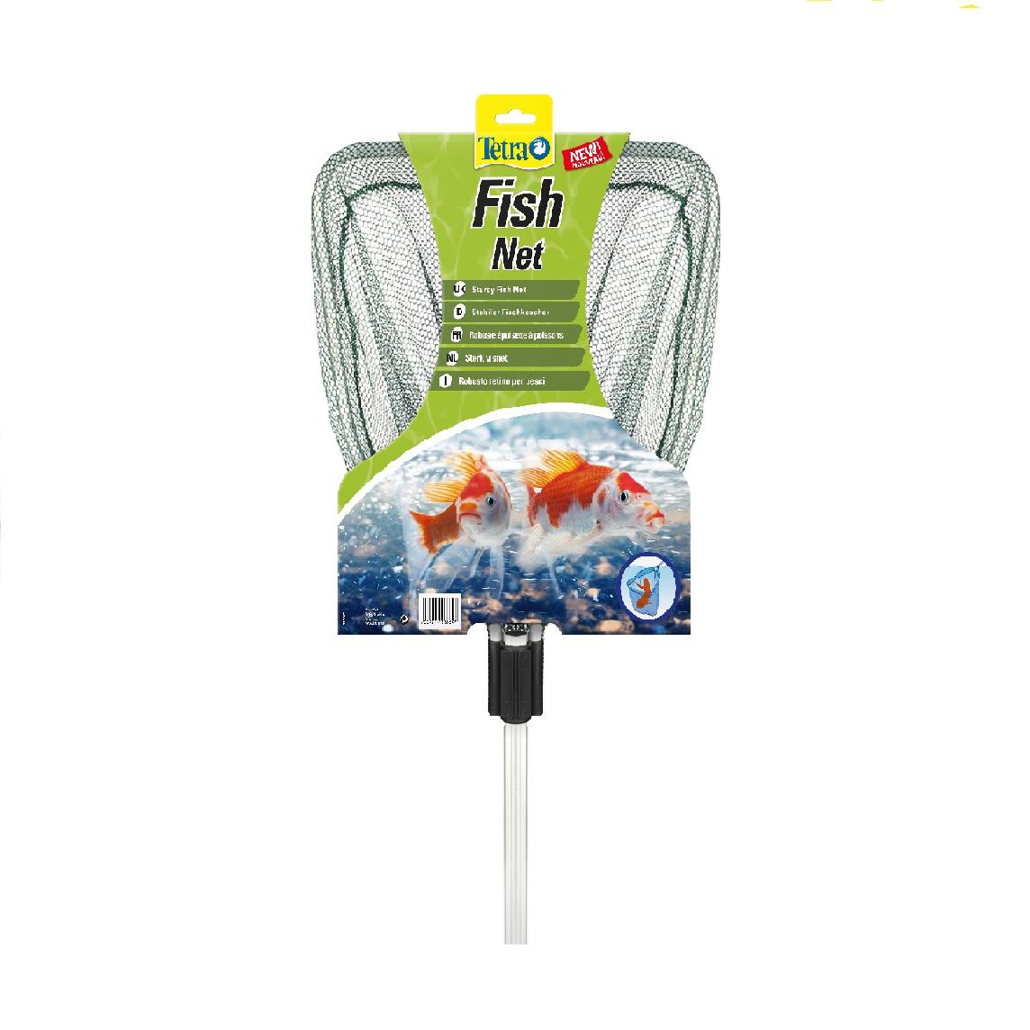 Сачок  Tetra Pond Fish Net  6,0 мм прудовый с телескопической ручкой