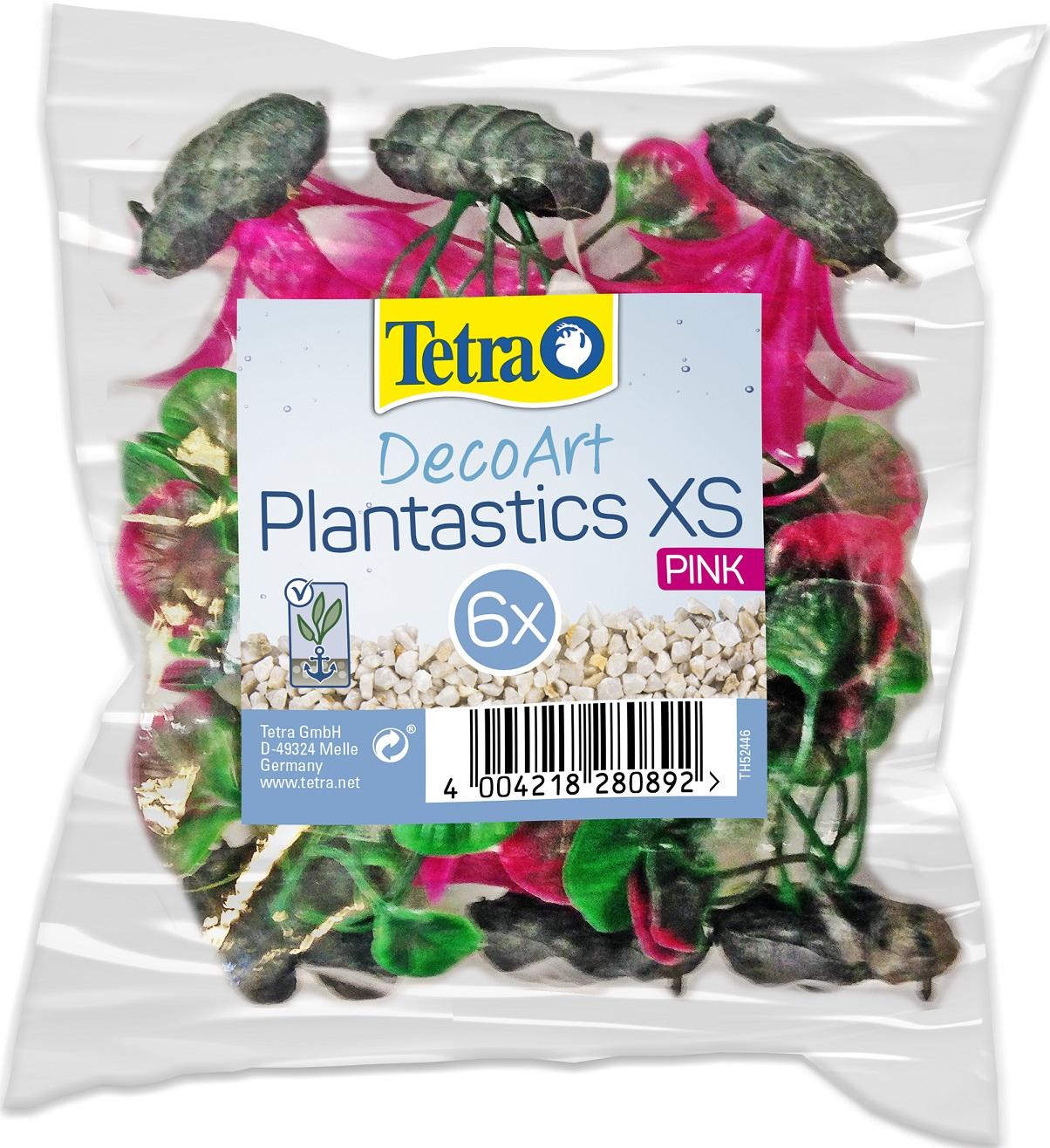 Растение пластиковое Tetra DecoArt Plantastics XS набор 6шт 6см