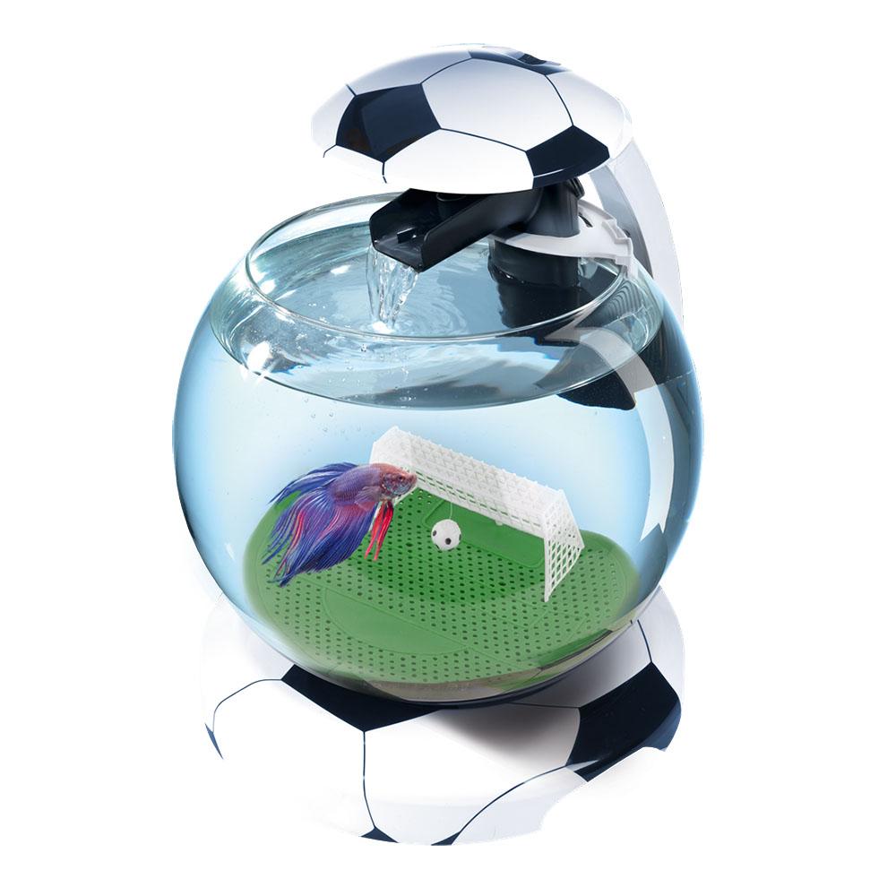 Аквариум Tetra Cascade Globe  Football 6,8л круглый с LED светильником