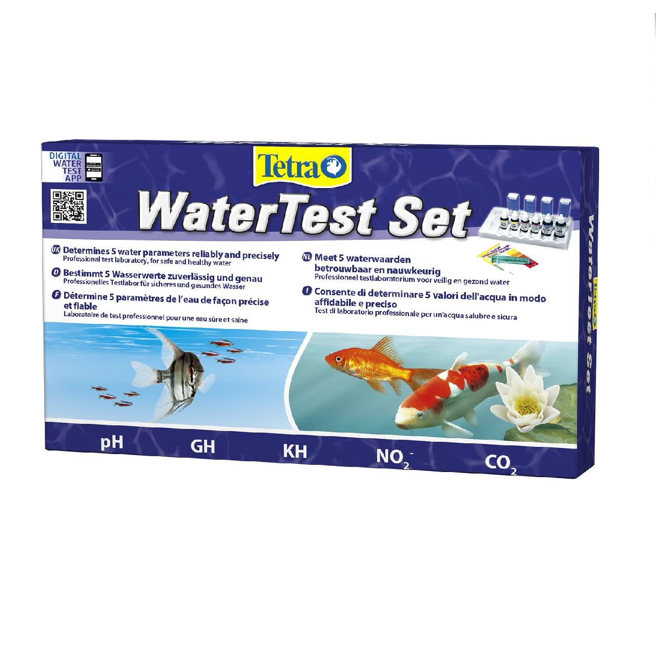 Набор тестов TETRA Laborett GH/kH/NO2/pH/CO2