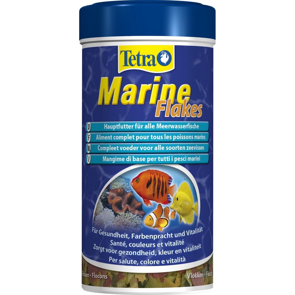 Корм для морских рыб TetraMarin Flocken хлопья 250мл
