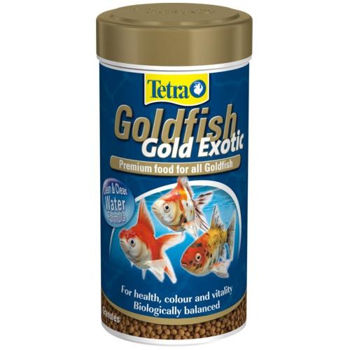 Корм для рыб TetraGoldFish Exotic 250мл шарики