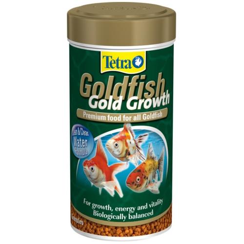 Корм для золотых рыб TetraGoldFish Gold Growth 250мл шарики