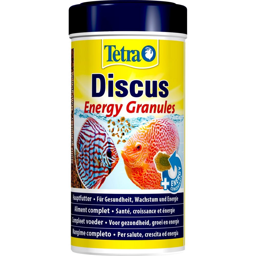 Корм для рыб TetraDiskus крупа энергетическая 250мл