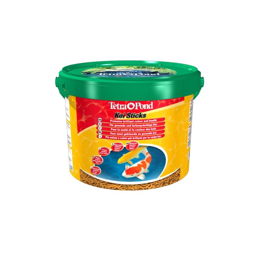 Корм для прудовых рыб TetraPond Koi Sticks гранулы  10л
