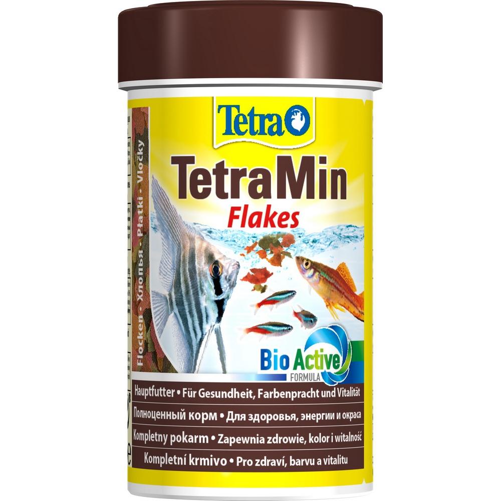 Корм для рыб TetraMin хлопья  100мл