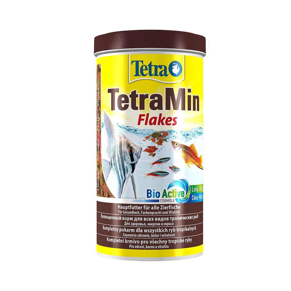 Корм для рыб TetraMin хлопья 1000мл