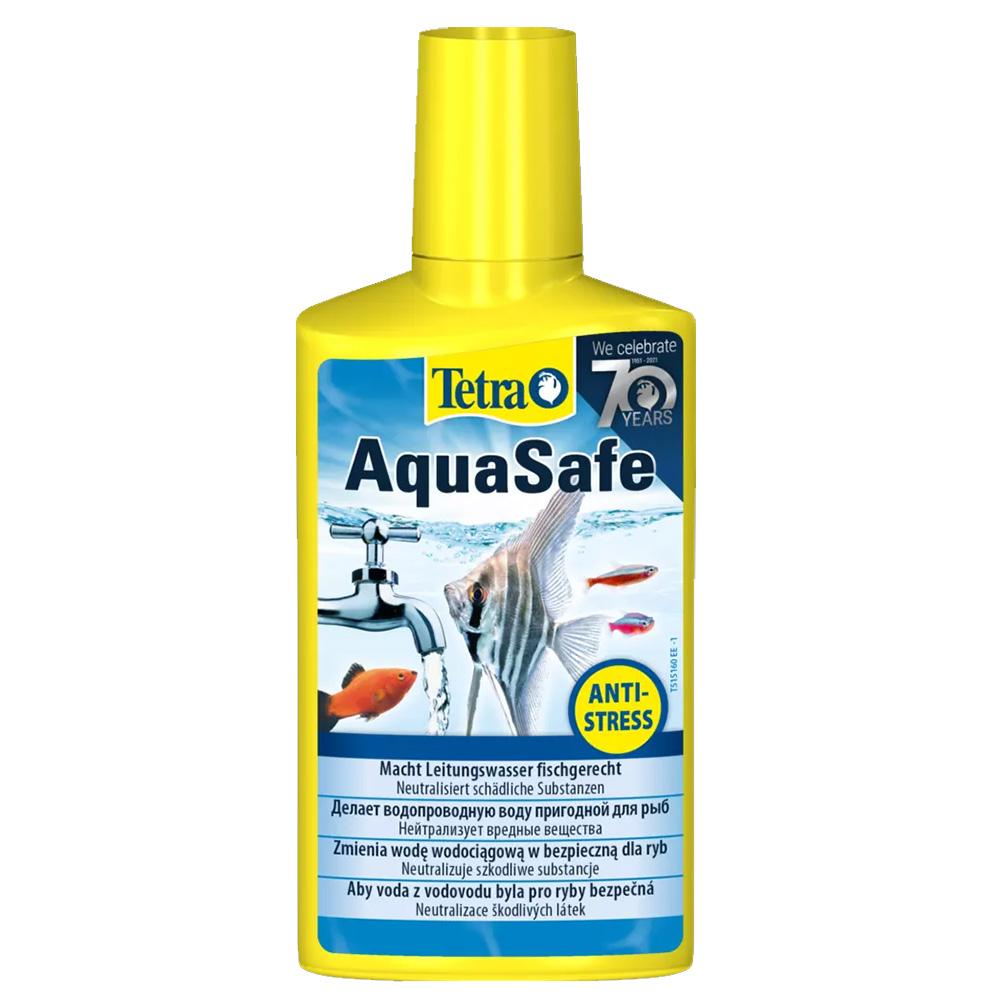 Кондиционер для подготовки воды Tetra AquaSafe 250мл/500л