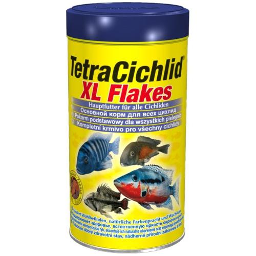 Корм для рыб TetraCichlid XL Flakes крупные хлопья 1000мл