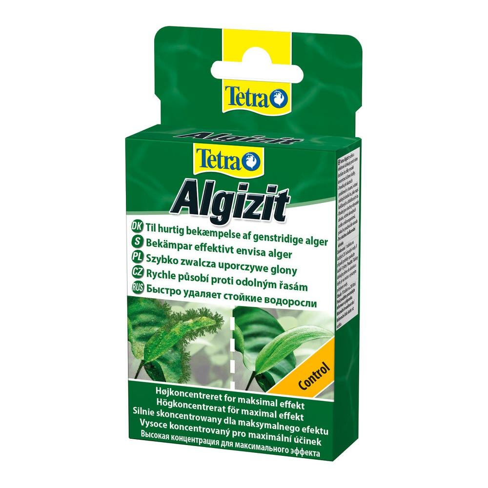 Средство против водорослей Tetra Algizit быстрого действия 10табл на 200л