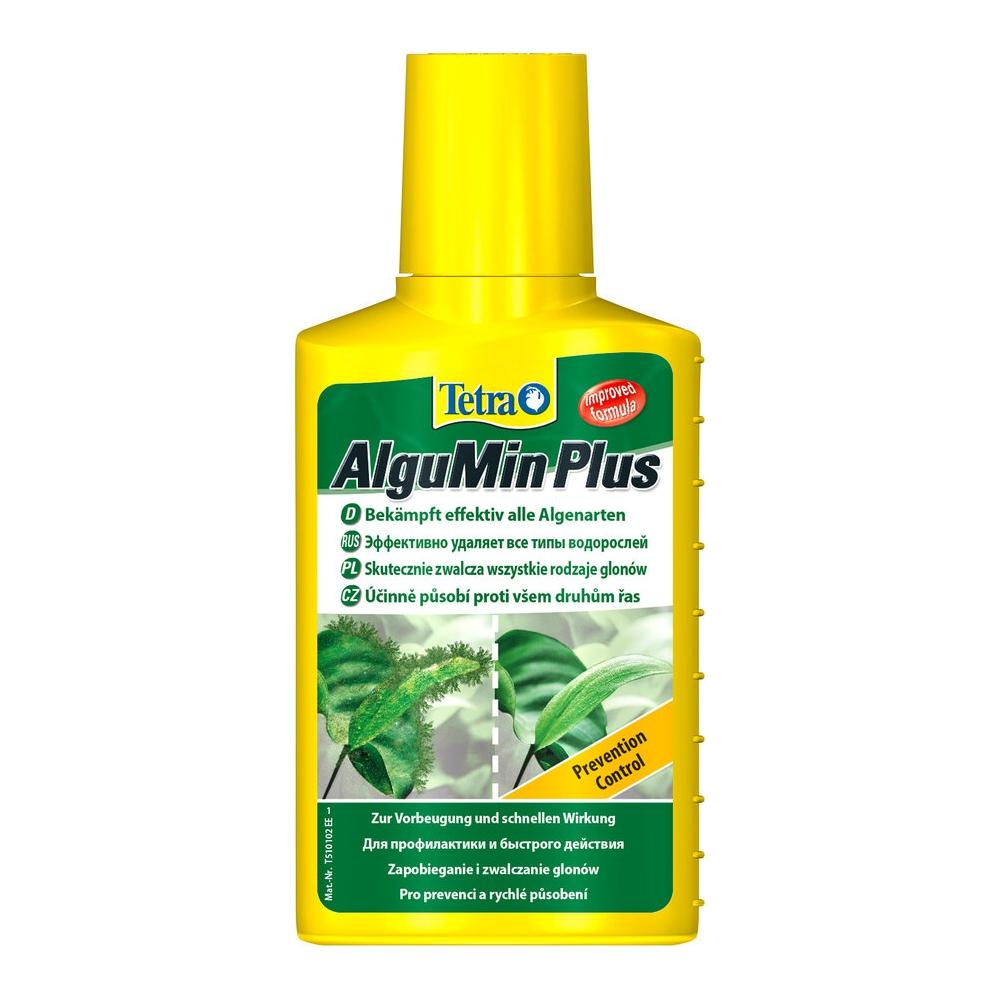 Средство против водорослей Tetra AlguMin продолж. действия 100мл на 200л