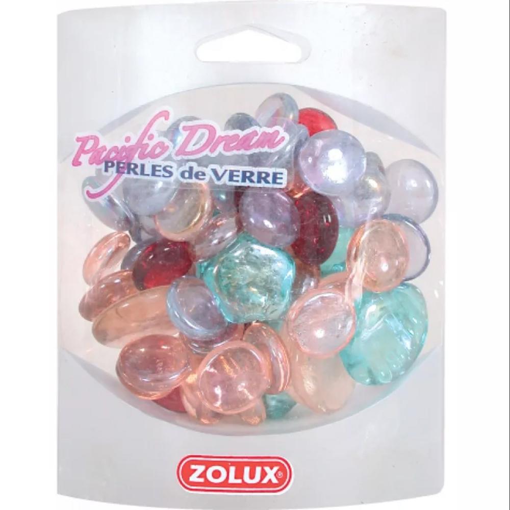 Украшения для аквариума ZOLUX стеклянные (мрамор, микс)
