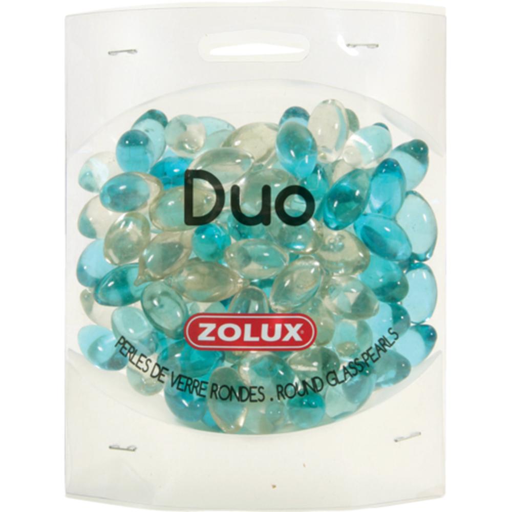 Украшения для аквариума ZOLUX стеклянные (голубой и прозрачный)