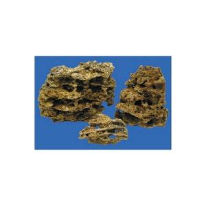 Камень Песчаник пещеристый желтый 1кг